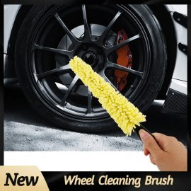 Brush for cleaning car discs, motorcycles / FREE Shipping!