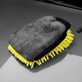 Rukavice / houba k mytí automobilů, motocyklů, oboustranná, mikrovlákno /Poštovné ZDARMA!