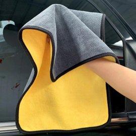 Super savá utěrka pro ruční mytí automobilu motocyklu, mikrovlákné/fleece