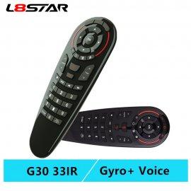 Air Mouse univerzálny ovládač G30S, IR, gyroskop, 2.4G pre Android, windos, Linux, Mac OS / Poštovné ZADARMO!