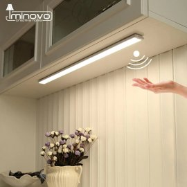 Přenosné LED světlo s čidlem pohybu, magnetické uchycení /Poštovné ZDARMA!