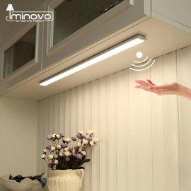 Prenosné LED svetlo s čidlom pohybu, magnetické uchytenie / Poštovné ZADARMO!