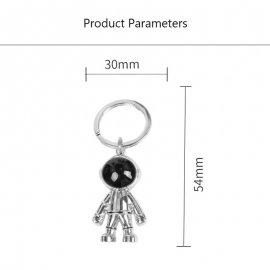 Prívesok na kľúče Astronaut Space robot / Poštovné ZADARMO!