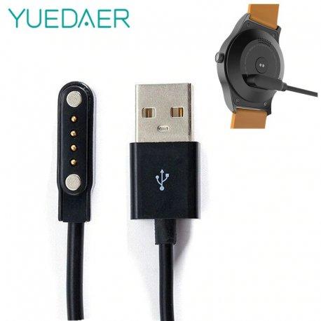 Magnetická nabíječka pro chytré hodinky GT88 G3 KW18 Y3 KW88 GT68, 4 Pin, USB kabel