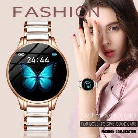 Dámske chytré hodinky LIGE, vodotesné IP67, srdcový tep, monitor spánku, notifikácia atď. / Poštovné ZADARMO!