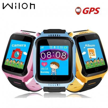 Dětské chytré hodinky telefonem, kamerou, SOS, alarm atd.