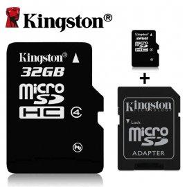 Pamäťová karta KINGSTON 16GB 32GB 64GB Class 10 Micro SDHC SDXC UHS-I TF / Poštovné ZADARMO!