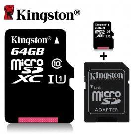 Paměťová karta KINGSTON 16GB 32GB 64GB Class 10 Micro SDHC SDXC UHS-I TF /Poštovné ZDARMA!
