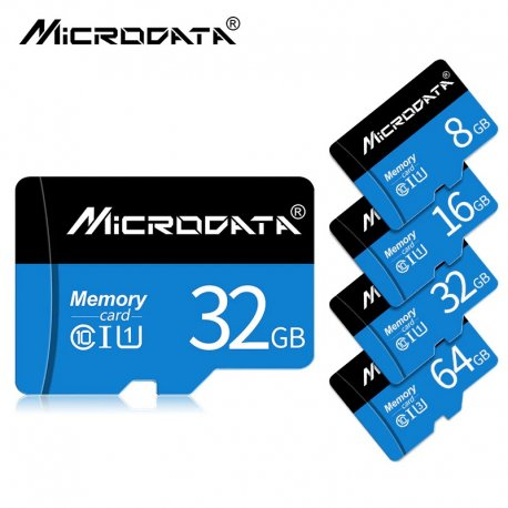 Paměťová karta LD 32GB Class 10 16GB/64GB/128GB Class10 UHS-1 4GB/8GB Class 6 Micro SD