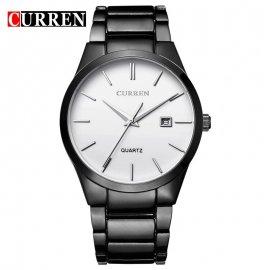 Hodinky CURREN Round Stainless Steel 2016 Top Brand Business Men Male Luxury Watch