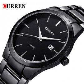 Luxusní pánské hodinky CURREN, nerez ocel, datumovka /Poštovné ZDARMA
