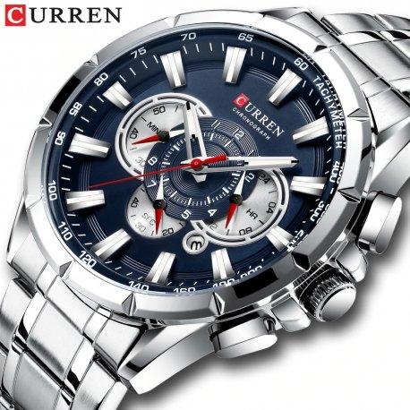 Luxusné hodinky Curren, quartz, nerez oceľ / Poštovné ZADARMO!