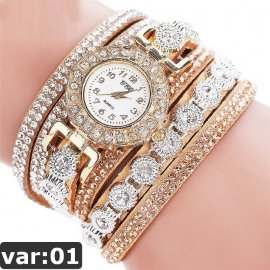 Dámske náramkové hodinky s krystaly CCQ 2020 /Poštovné ZDARMA!