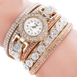 Dámske náramkové hodinky s kryštálmi CCQ 2020 / Poštovné ZADARMO!
