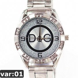 Hodinky Fashionable Quartz Wrist Watch with Synthetic Leather Strap for Girls