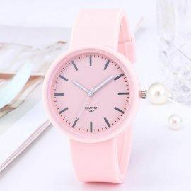 Jednoduché hodinky, silikonový řemínek /Poštovné ZDARMA!