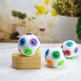 Hlavolam Rainbow Ball, protistresový loptička 7cm / Poštovné ZADARMO!