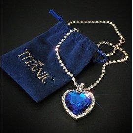 Náhrdelník Titanic Heart of Ocean / Poštovné ZDARMA!