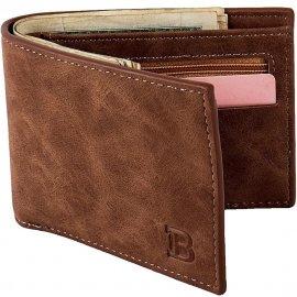 Luxusná kožená pánska peňaženka - priehradka na mince, karty, doklady / Poštovné ZADARMO!