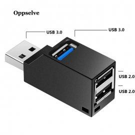 USB HUB, 1x USB 3.0 2x USB 2.0 / Poštovné ZADARMO!