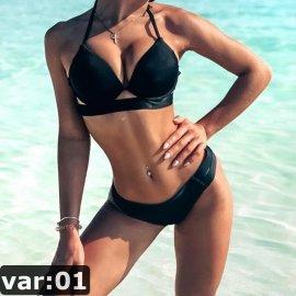 Sexi dámske dvojdielne plavky Andzhelika Bikinis 2019 Push Up