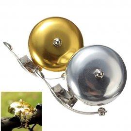 Klasický kovový zvonček na bicykel, retro / Poštovné ZADARMO!