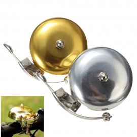 Klasický kovový zvonek na kolo, retro / Poštovné ZDARMA!