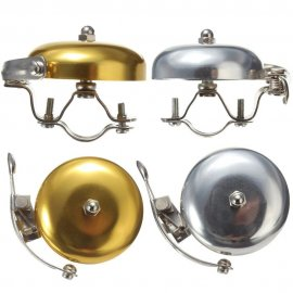 Klasický kovový zvonek na kolo, retro / Poštovné ZADARMO!