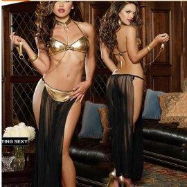 Sexy kostým otrokyne, arabská háremové tanečnice / Poštovné ZADARMO!