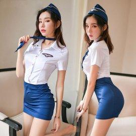 Uniforma sexy letuška / Poštovné zadarmo!