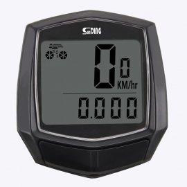 Káblový Cyklopočítač, tachometer, LCD, vodeodolný / Poštovné ZADARMO!