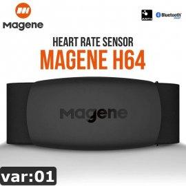 Magen H64 Sensor srdcového tepu s popruhom na hrudník Dual Mode ANT + & Bluetooth 4.0, IP67 / Poštovné ZADARMO!