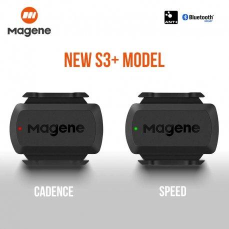 MAGENE S3+ Senzor rychlosti/kadence vhodný pro Garmin/Strava/Zwift/Tacx /Poštovné ZDARMA!