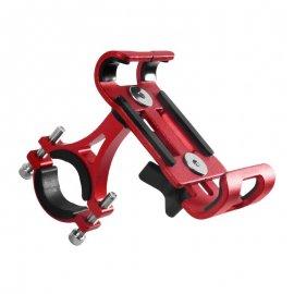 """Otočný držiak telefónu na bicykel, univerzálna - nastaviteľný 3.5 """"- 6.5"""", protišmykový, aluminium / Poštovné ZADARMO!"""