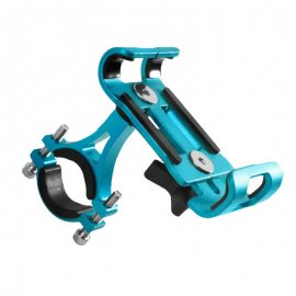 """Držák telefonu na jízdní kolo AUBTEC, voděodolný, nastavitelný 3.5"""" - 6.2"""" univerzální, aluminium"""