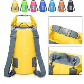 Vodotěsný vak s popruhy na záda 5-30L pro vodní sporty, treking, camping /Poštovné ZDARMA!