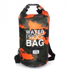 Vodotesný vak s popruhmi na chrbát 2-30L pre vodné športy, treking, camping / Poštovné ZADARMO!