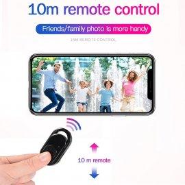 Bezdrátové Selfie tlačítko fotoaparátu, BT, univerzální pro mobily, foťáky /Poštovné ZDARMA!
