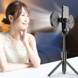 Bezdrátová BT Selfie tyč pro Gopro / mobily / kamery, 2 x LED světlo, stativ, teleskopická 19-66cm /Poštovné ZDARMA!