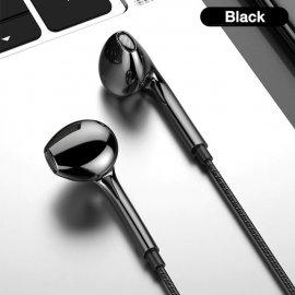 Sluchátka, mikrofon, ovládání hlasitosti, 3.5mm Stereo Jack, univerzální /Poštovné ZDARMA!
