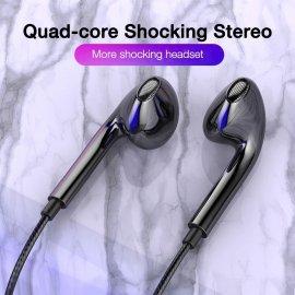 Slúchadlá, mikrofón, ovládanie hlasitosti, 3.5mm Stereo Jack, univerzálne / Poštovné ZADARMO!