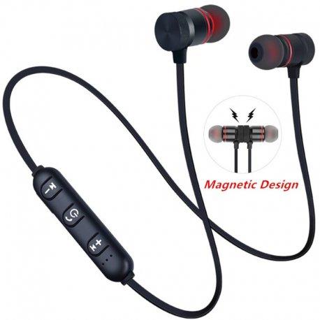 Bezdrátová sluchátka, handsfree, bluetooth V4.2, stereo, magnet, univerzální /Poštovné ZDARMA!