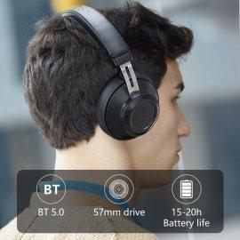 Bezdrátová Sluchátka Bluedio BT5, Super Bass, BT 5.0, stereo, mikrofon, ovládání, 57mm speaker