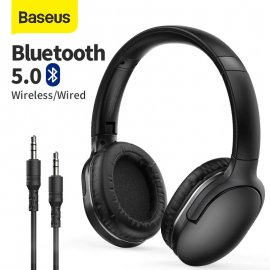 Bezdrôtová Slúchadlá Baseus D02 Pro, BT 5.0, stereo, mikrofón, ovládanie, 40mm speaker / Poštovné ZADARMO!