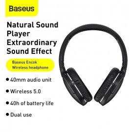 Bezdrátová Sluchátka Baseus D02 Pro, BT 5.0, stereo, mikrofon, ovládání, 40mm speaker /Poštovné ZDARMA!