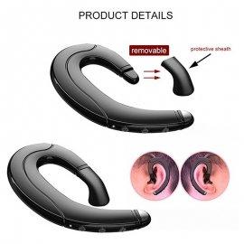 Športové slúchadlá s technológiou Bone conduction, handsfree headset BT 5.0, IPX5 vodeodolné, mikrofón / Poštovné ZADARMO!