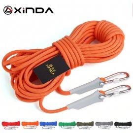XINDA 9.5 - 12mm profesionální horolezecké lano s karabinkami, 10 - 20M /Poštovné ZDARMA!