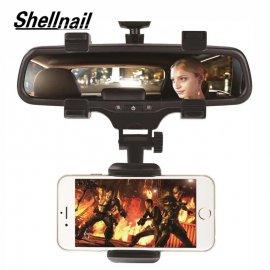 Nastaviteľný držiak mobilu na spätné zrkadlo auta / Poštovné ZADARMO!