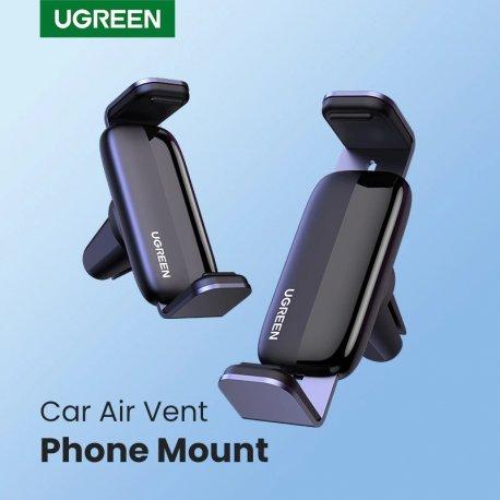 """UGREEN Držák telefonu mřížky ventilace / 360 stupňů otočný / protiskluzový / univerzální 4.7-7"""" /Poštovné ZDARMA!"""