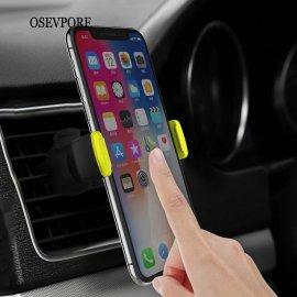 """Univerzálny držiak mobilu do mriežky ventilácie, kovový úchyt, otočný, 4.7-6 """"/ Poštovné ZADARMO!"""